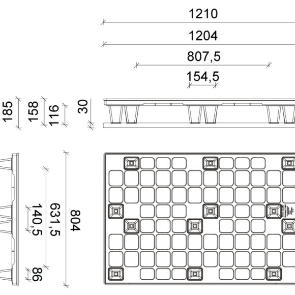 ST 801 Szerkezeti ábra