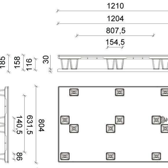 STZ 801 Szerkezeti ábra